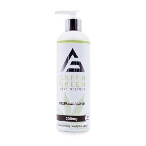 Aspen Green USDA Certified - 3000mg Professional Nourishing Body Oil
