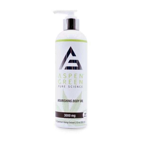 Aspen Green USDA Certified - 3000mg Professional Nourishing Body Oil