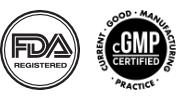 FDA and CGMP seals