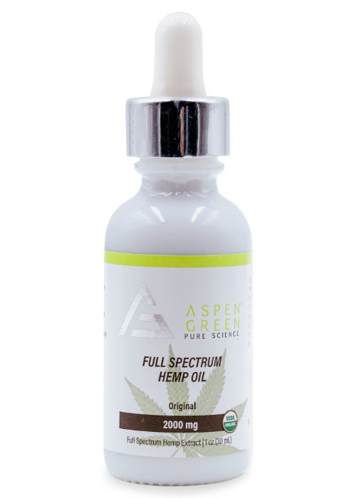 Full Spectrum Hemp Oil (2000mg)