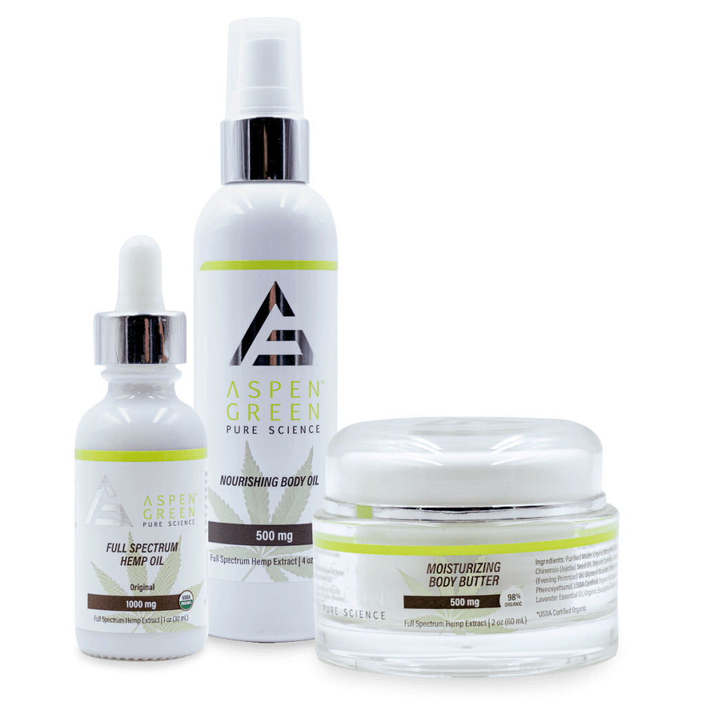 Aspen Green Ladies Skin Wellness Package