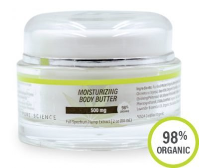 Aspen Green USDA Certified - 500mg Moisturizing Body Butter