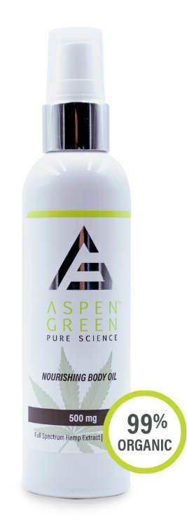 Aspen Green USDA Certified - 500mg Nourishing Body Oil