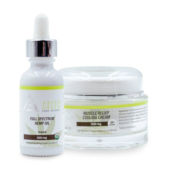 Aspen Green Sports Recovery Set
