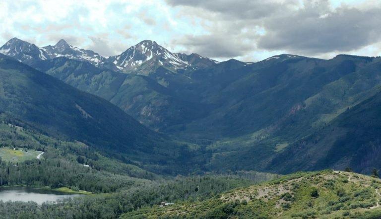 Colorado mountains where our hemp is grown