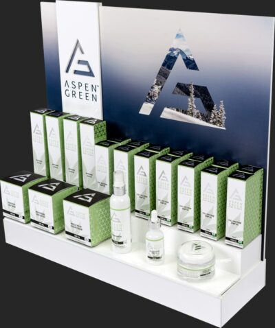 Aspen Green table top display