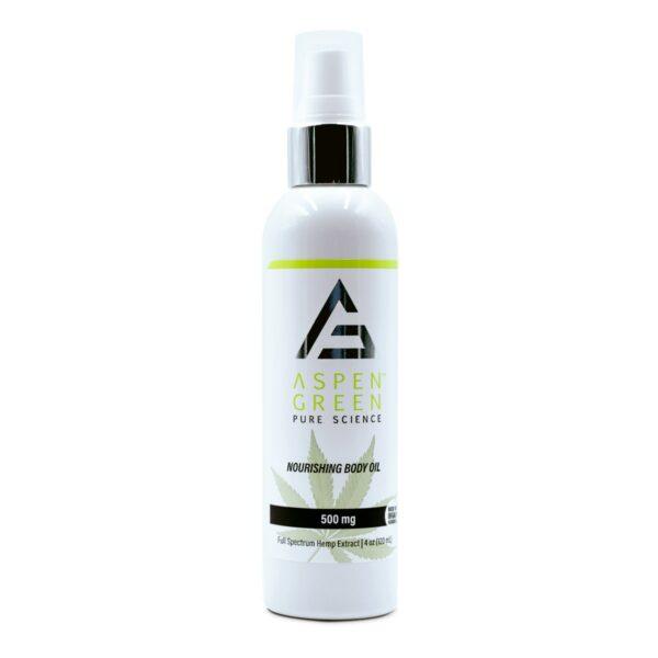 Aspen Green's USDA Certified - 500mg Nourishing Body Oil