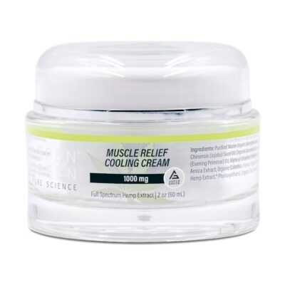 Aspen Green 1000mg Muscle Relief Cooling Cream