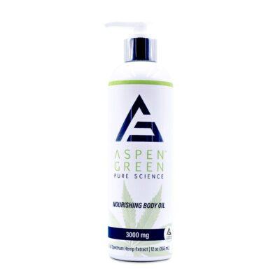 Aspen Green 3000mg Nourishing Body Oil