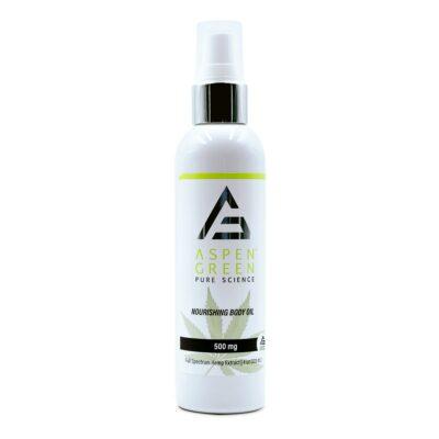 Aspen Green 500mg Nourishing Body Oil